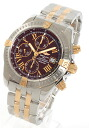 Breitling Wind Rider chronomat evolution automatic chronograph YG Combi Brown men's B156K21PAO
