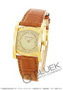 Bulgari asham YG Wilsdorf alligator Leather Brown / Champagne Ladies AA39C13GLD