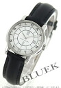 Bulgari solo tempo leather black/white & silver ladies ST29WSLD