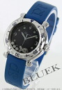 Rakuten Japan sale ★ Chopard happy sport happy Beach diamond rubber blue / black ladies 27 / 8921