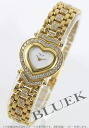 Chopard heart YG pure gold diamond YG duo white ladies S10/5391-23
