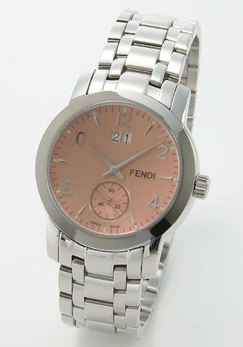 フェンディ ニュークラシコ ラウンド ピンク メンズ F215170