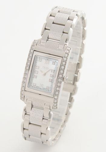 フェンディ ループ ダイヤモンド ホワイトシェル レディース F765240DDC
