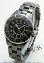 CHANEL sports J12 diamond index ceramic black Lady's H1625
