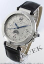 Cartier Pasha XL automatic night & day alligator leather Black / Silver mens W3109255