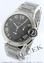 Cartier baron blue LM automatic chronograph dark gray men W6920025