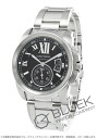Cartier Cali bulldog do Cartier LM Automatix lacing braid second black men W7100016