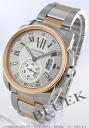Cartier カリブル de Cartier LM PG Combi automatic silver mens W7100036