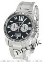 Cartier Cartier calibre de Cartier men's W7100061 watch clock