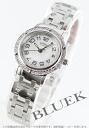 HERMES clipper diamond bezel white shell Lady's 035322WW00