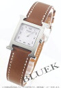 Hermes Hermes H watch ladies 036706WW00 watch clock
