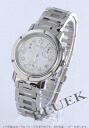 Hermes Clipper chronograph white ladies push buckle CL1.310.132/3840