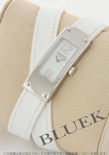 エルメス ケリーII ドゥブルートゥール レザー ホワイト レディース KT1210.130/UBC1