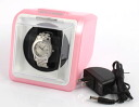 Pink with watch winder (ワンディングマシーン) adapter