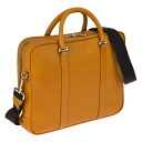 Bally BALLY business bag dark yellow MAED 132