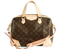 Louis Vuitton LOUIS VUITTON Monogram Retiro PM handbag dark brown M40325
