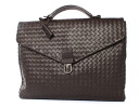Rakuten Japan sale ★ Bottega Veneta BOTTEGA VENETA calf leather business bag dark brown 113095