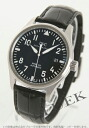 IWC pilot's watch mark XVI leather black mens IW325501
