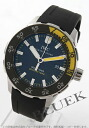 IWC aquatimer automatic 2000 diver's rubber black mens IW356802