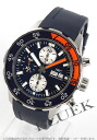IWC aquatimer chronograph divers rubber black / blue mens IW376704
