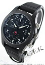IWC pilot's watch top gun titanium chronograph automatic leather black mens IW388001