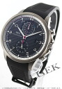 IWC ポルトギーゼヨットクラブチタンオートマチッククロノグラフラバーカーボンブラックメンズ IW390212 watch clock (celebration of stylish gift present brand men's things resignation retirement age father supermarket sale 201409 for men)