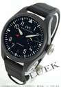 IWC big pilot's watch top gun titanium ceramic power reserve leather black mens IW501901