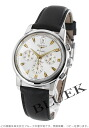 Jin Ron conk est automatic chronograph leather black / silver men L1.641.4.75.2