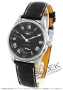 Longines master collection automatic power reserve with crocodile leather brown / black men's L2.666.4.51.7