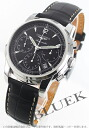 Jin Ron Mie Santi automatic chronograph alligator leather black men L2.752.4.52.3