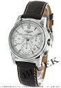 Jin Ron Mie Santi automatic chronograph alligator leather brown / silver men L2.752.4.72.0