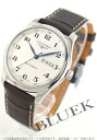 Jin Ron master collection automatic D date alligator leather brown / silver men L2.755.4.78.3