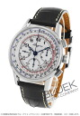 Longines heritage automatic tachymeter chronograph with crocodile leather black / white men's L2.781.4.13.2