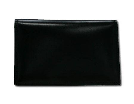 ゾンネ カイザー コードバンレザー カードケース(名刺入れ) (BLK/ブラック) SOC008RE