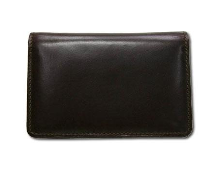 ゾンネ ミロルド ブライドルレザー カードケース(名刺入れ) (CHO/チョコレートブラウン) SOW008