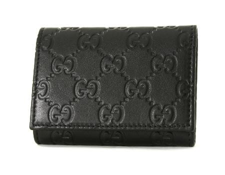 グッチ グッチシマ カードケース ブラック 120965