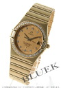 Omega Constellation 1107.15 YG pure gold diamond chronometer gold mens