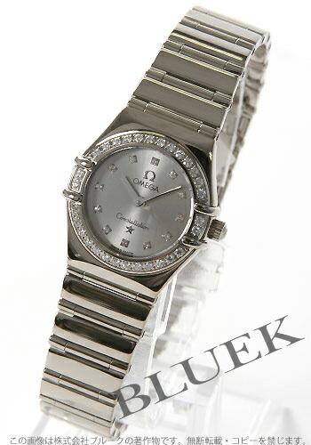 オメガ コンステレーション 1165.36 WG金無垢 ダイヤモンド シルバー レディースミニ マイチョイス