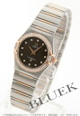 Omega Constellation diamond 1358.60 RG Combi Brown ladies