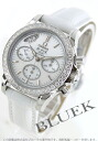 Omega-Devil DIA Basel co-axial chronograph leather white shell Womens 422.18.35.50.05.002