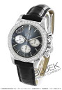Omega-Devil DIA Basel co-axial chronograph leather black & white shell Womens 422.18.35.50.06.001