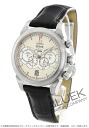 Devil Omega co-axial Chronoscope 4 counter WG pure gold leather black/ivory & silver men's 422.53.41.52.09.001