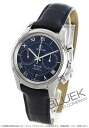 Omega-Devil co-axial chronograph leather blue mens 431.13.42.51.03.001