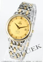 Omega-Devil prestige 4374.11 chronometer co-axial YG Combi gold mens