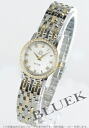 Ladies Omega-Devil prestige 4375.71 diabesel YG duo white shell mini