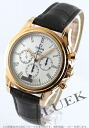 Omega-Devil coaxial RG pure gold leather dark brown / silver mens 4643.20.32