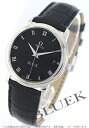 Omega-Devil prestige 4810.52.01 alligator leather black mens