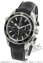 Omega Seamaster Planet Ocean co-axial chronograph rubber Black Womens 222.32.38.50.01.001