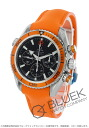 Omega Seamaster Planet Ocean Chrono coaxial 600 m waterproof rubber orange / black women's 222.32.38.50.01.003