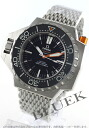 Omega Seamaster プロプロフ 1200 m co-axial chronometer black mens 224.30.55.21.01.001